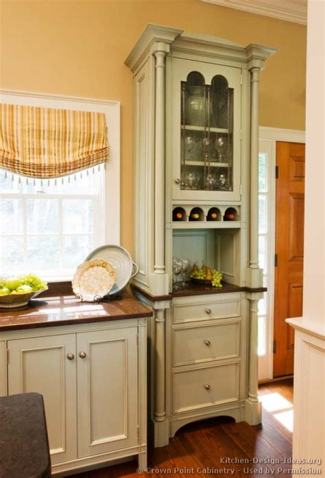 two tone green kitchen cabinets pictures of kitchens traditional two tone kitchen