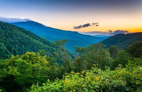 best section of blue ridge parkway the best scenic car rides in the smoky mountains