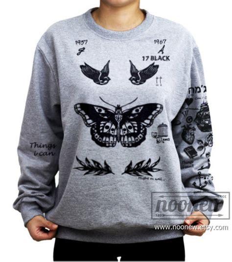 harry styles tattoo pullover kaufen sweater felpa tatuaggi harry styles harry styles tattoo