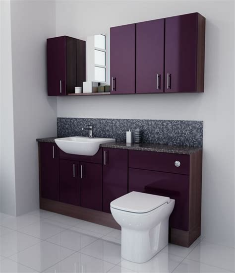 aubergine bathroom accessories bathcabz bathroom fitted furniture products fitted