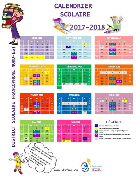 Calendrier 2018 Scolaire Calendrier Scolaire Gt Dsfne