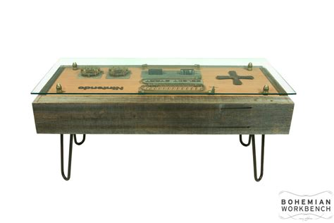 Steampunk 8 bit Retro Gaming Table   Bohemian Workbench