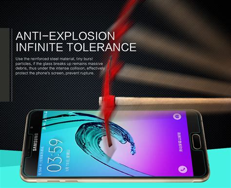 Samsung A7100 A710f Qin Leather Nillkin Unq nillkin amazing h tempered glass screen protector for