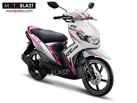 Striping Lis Variasi Motor Mio Soul Gt 125 F1 Avantiz 2 modif striping mio soul gt untuk rider srikandi motoblast