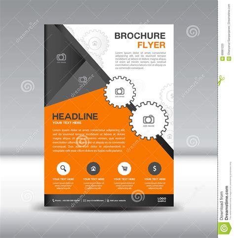 brochure flyer templates newsletter design template vector cartoondealer