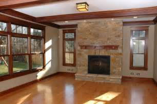 Craftsman House Interior by Craftsman Trim Country Living Pinterest