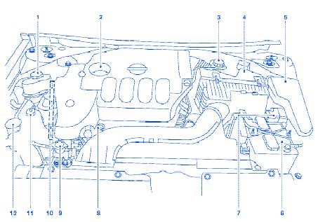 2004 Xterra Engine Diagram
