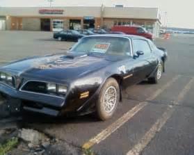 Pontiac Trans Am Bandit For Sale 42k Mile 1978 Pontiac Trans Am 6 6l Bring A Trailer
