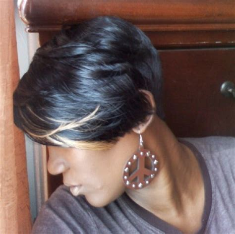 short cut with feathers african americans styles short quick weave hairstyles