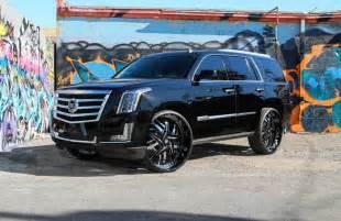 Cadillac On 30 Inch Rims 2015 Cadillac Escalade With 30 Inch Forgiato Wheels