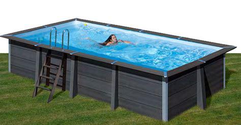 piscine rectangulaire composite