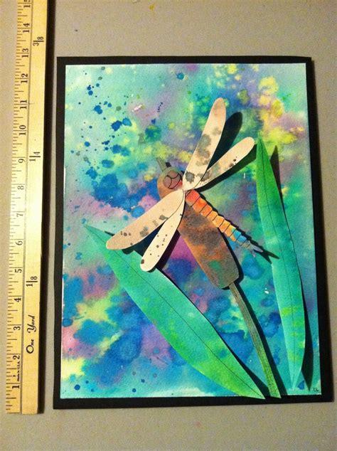 5th grade craft projects 5th or 6th grade project idea lesson watercolor bugs