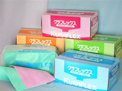 Kuraflex Counter Cloth Ultra Thick Pink 衛生ふきん クラフレックス カウンタークロス グッドデザインフリーク