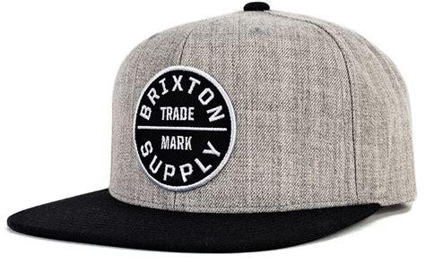 Snapback Brixton Supply 2 brixton oath snapback oath iii cap grey black by brixton