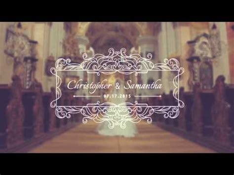 30 Wedding Titles Videohive Templates After Effects Project Files Youtube Wedding Title Templates After Effects