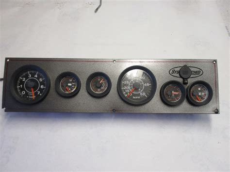 evinrude boat gauges vintage john allmand citation 1974 boat dash panel omc