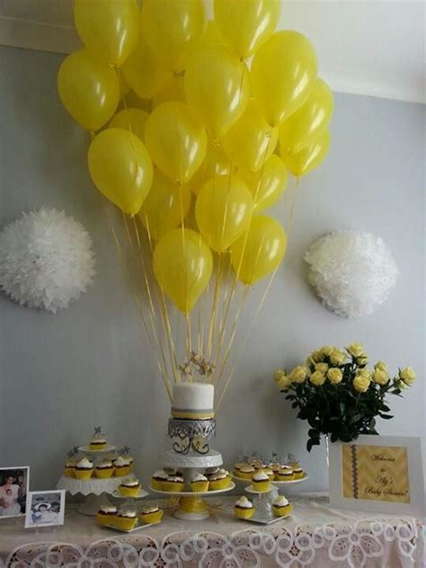 Baby Shower Decorations Yellow by Best 25 Baby Shower Ideas Ideas On