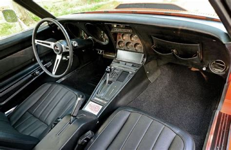 1969 corvette interior 1969 chevrolet corvette stingray the orange one