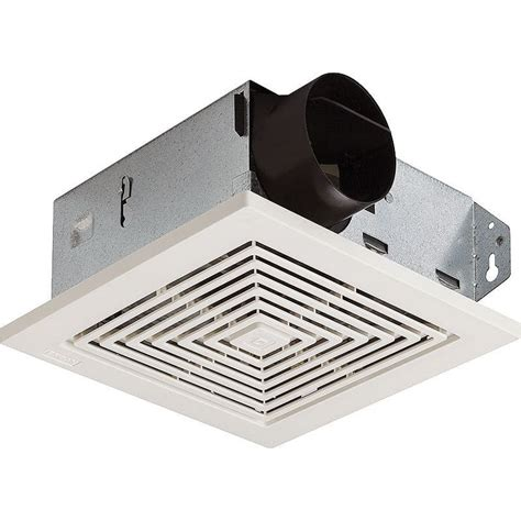 hvi bathroom fan broan 688 white 50 cfm 4 sone ceiling or wall mounted hvi
