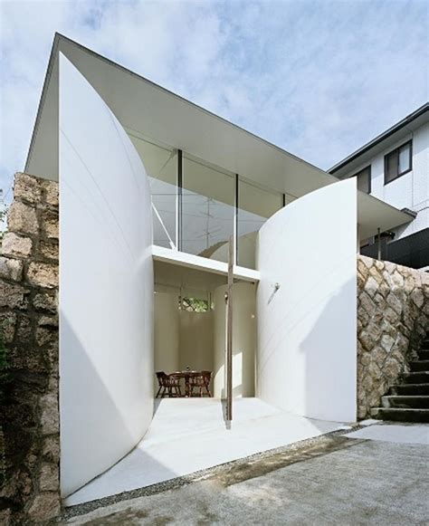 Small House Entrance Designs Lucky Japanese Architecture Clover House By Katsuhiro