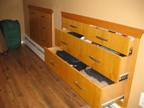 Knee Wall Storage Drawers by Builtintothewalldrawers Richfinn