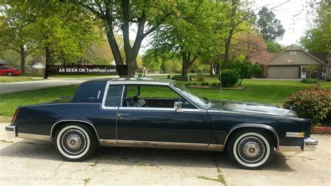 1984 Cadillac Eldorado by 1984 Cadillac Eldorado Base Coupe 2 Door 4 1l