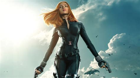 wallpaper black widow black widow captain america the winter soldier wallpapers