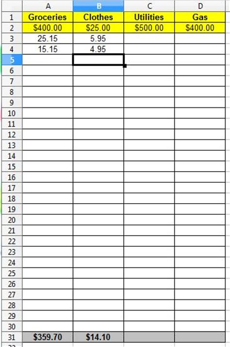 Column Spreadsheet by Index Of Postpic 2014 09
