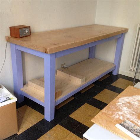 tavolo lavoro cucina tavolo per cucina con pianale di lavoro bricheco