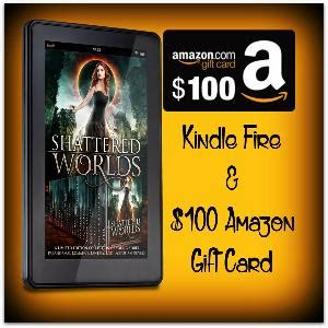 Amazon Fire Gift Card - contest win a kindle fire and 100 amazon gift card