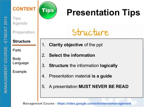 tips to make a successful business presentation