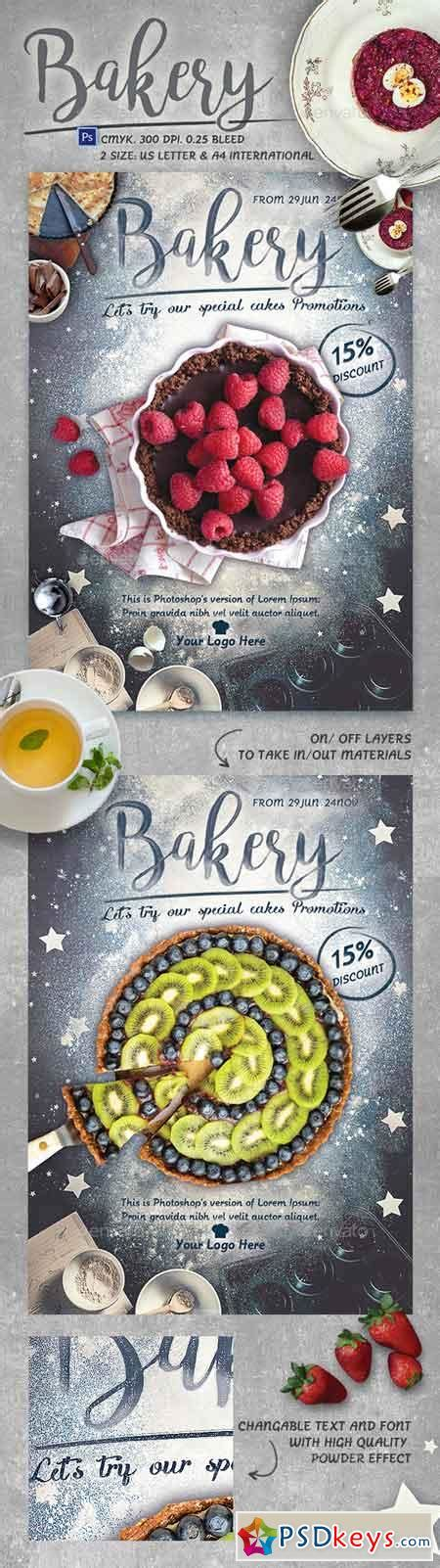 free bakery flyer templates bakery promotion flyer template 15854476 187 free