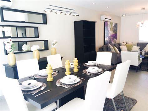 decoraciones de salas  comedores juntos  sala comedor