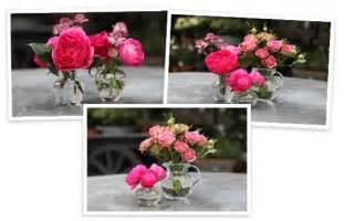flower arranging by vase goop