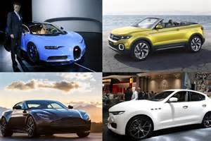 Maserati Bugatti From Bugatti Chiron To Maserati Levante Top Cars From