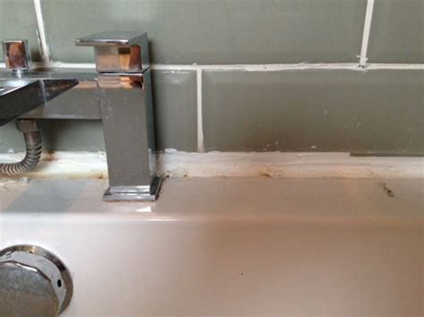 what to use to seal bathtub fix my terrible bath seal bathroom fitting job in