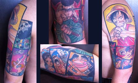 one piece wiki ruffy tattoo one piece tattoo half sleeve by tma1992 on deviantart