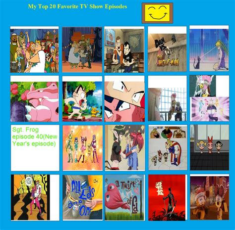 7 Ofmy Favorite Tv Shows by Top 20 Favorite Tv Show Episodes My Way By