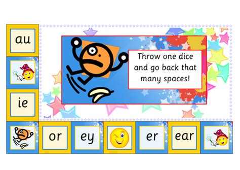 printable phonics card games phonics board game by giraffe2 teaching resources tes