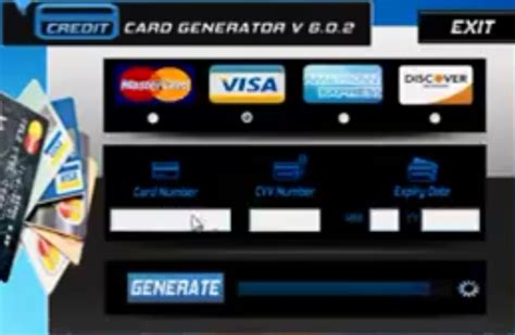 credit card number generator software free download getmailer