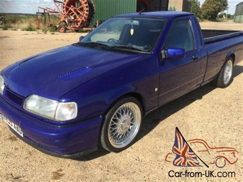 ford  p sierra pickup imperial blue lovely truck cosworth