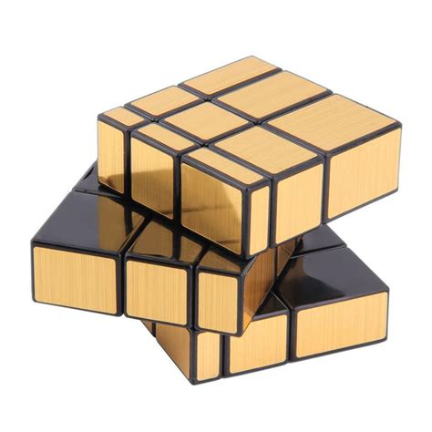 Mainan Edukasi Rubik 3x3 Magic Cube Intellect Toys Amusine Baru Anek 3x3x3 magic cube puzzle cube toys mirror block gold intelligence gold toys hobbies