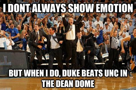 Duke Memes - duke vs unc a truer shade of blue duke blue devils