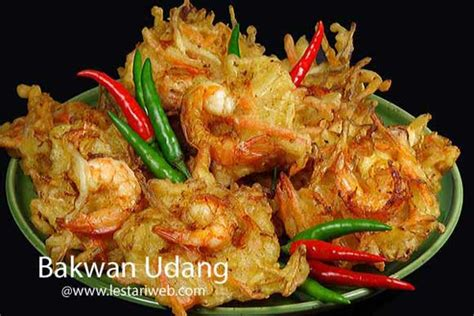 kumpulan resep asli indonesia bakwan udang