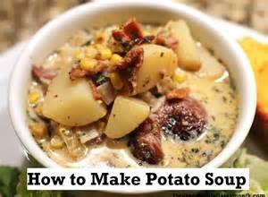 recipe how to make potato soup