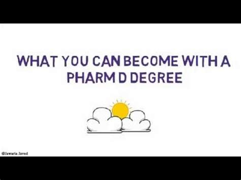 What Can I Do With A Pharmd And Mba by What You Can Become After You A Pharm D Degree