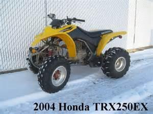 2004 Honda Sportrax 250ex 2004 Honda Trx250ex