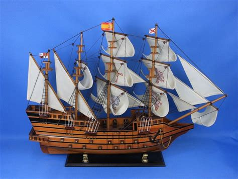 boat time in spanish buy wooden spanish galleon tall model ship limited 34in