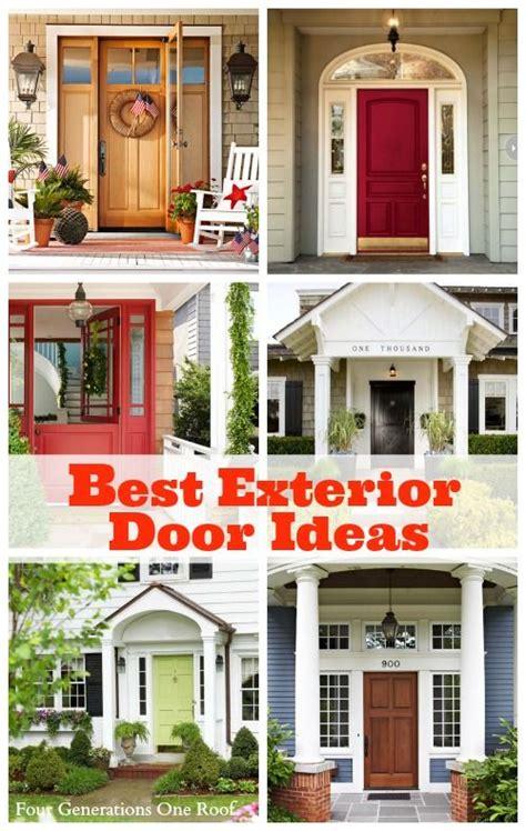 Front Door Makeover Ideas Best Exterior Door Ideas Our Front Door Makeover