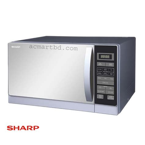 Microwave And Oven Sharp sharp r72a1 microwave oven with grill price in bangladesh ac mart bd